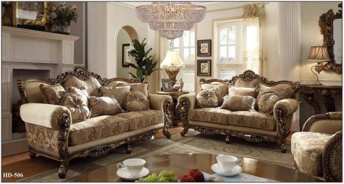 7 Pc Living Room Set