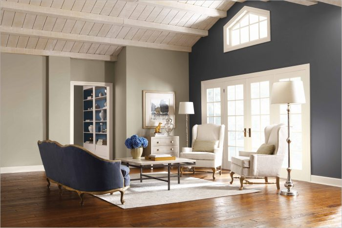 Accent Wall Paint Colors For Living Room
