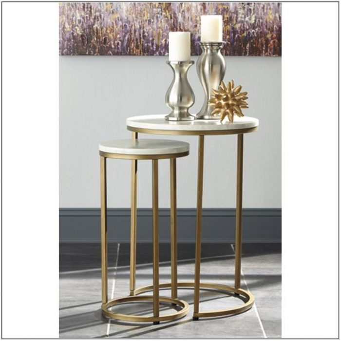 Ashley Furniture Living Room End Tables