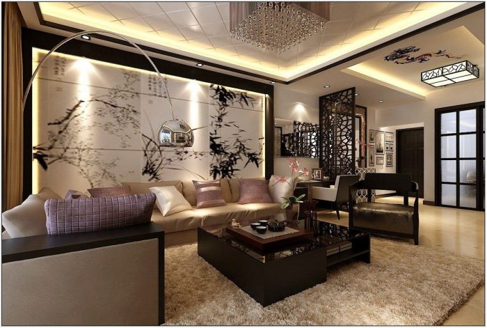 Asian Decor Living Room