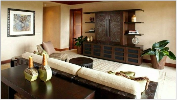 Asian Interior Design Living Room