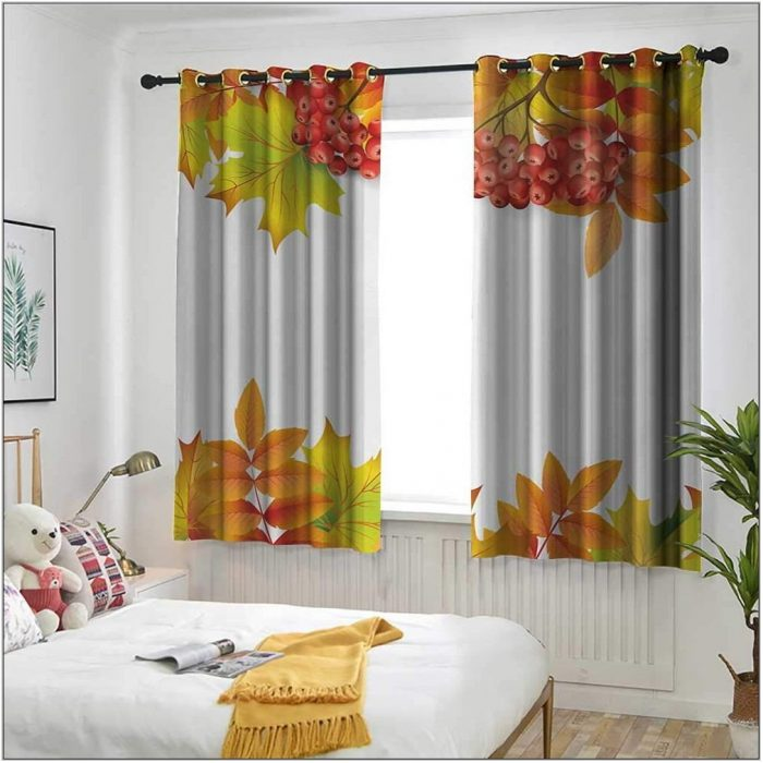 Autumn Curtains For Living Room