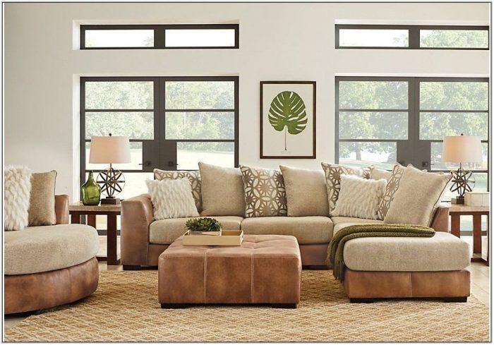 Ballinger Beige 3 Pc Sectional Living Room