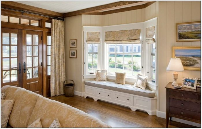 Bay Window Treatment Ideas Living Room