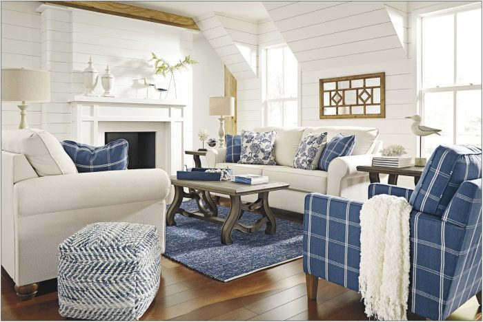Beach Style Living Room Sets
