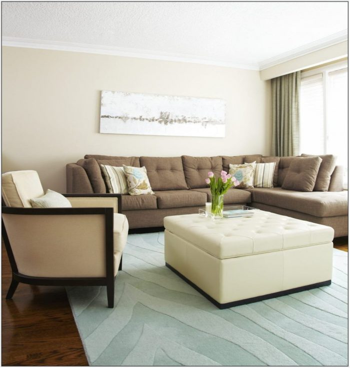 Beige Color Living Room