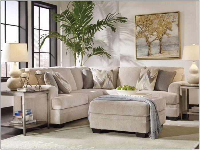 Beige Sectional Living Room