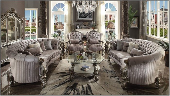 Bermuda Curved Living Room Collection