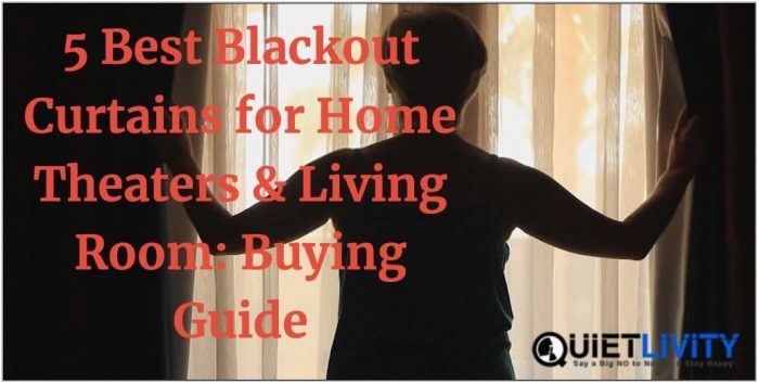 Best Blackout Curtains For Living Room