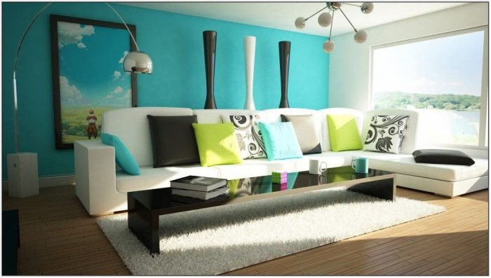 Best Blue Color For Living Room
