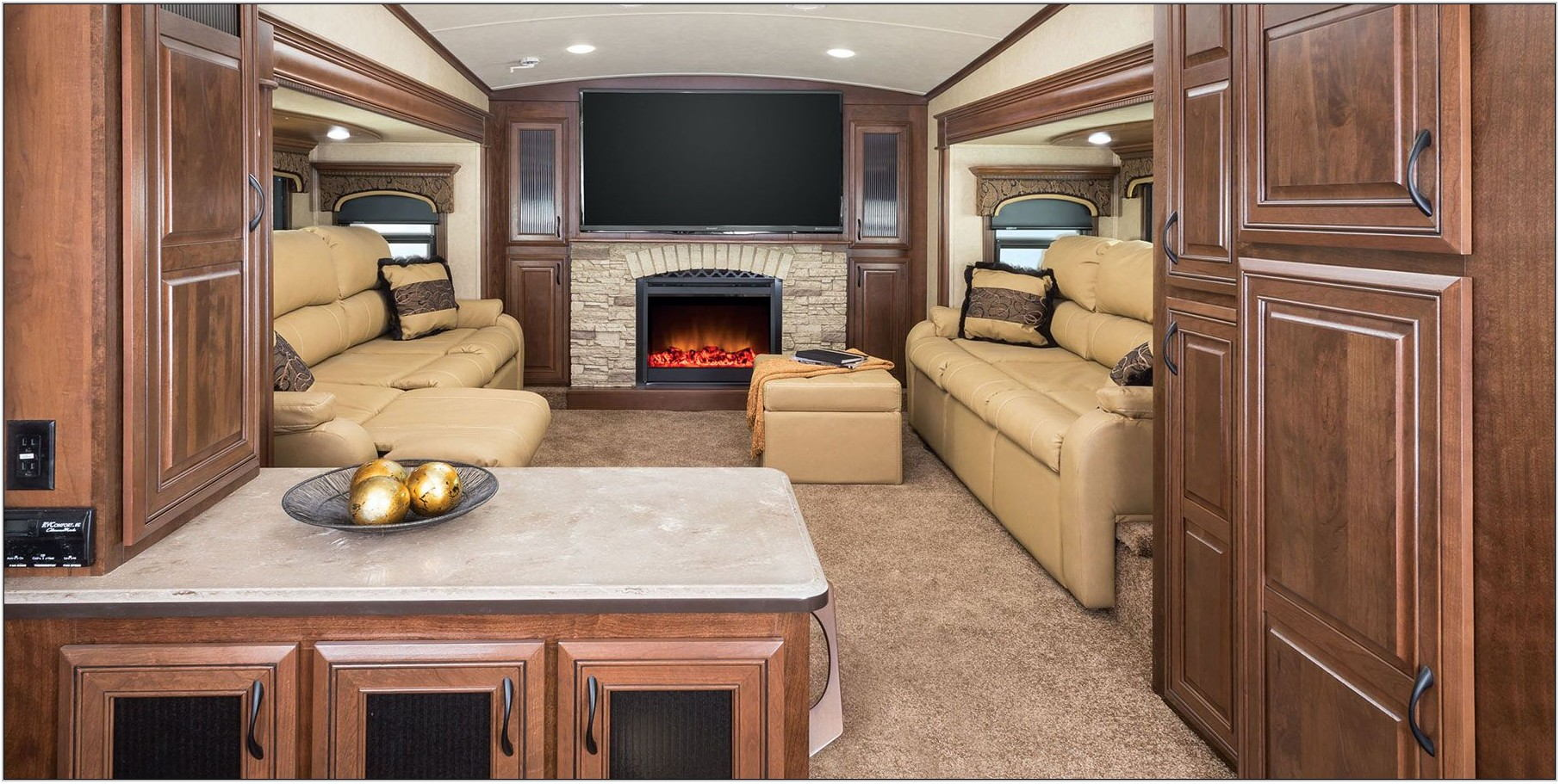 Best Front Living Room Fifth Wheel