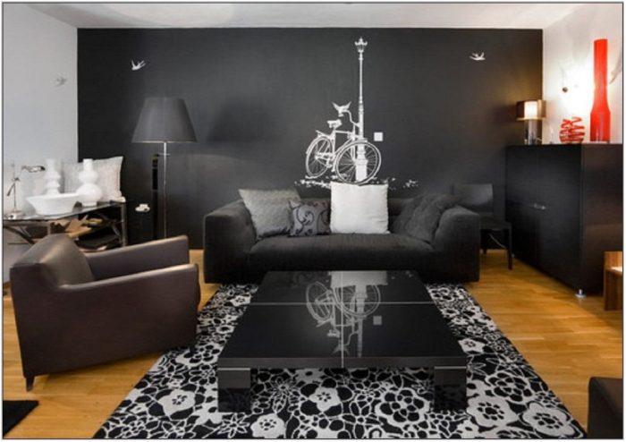Black Living Room Set Ideas