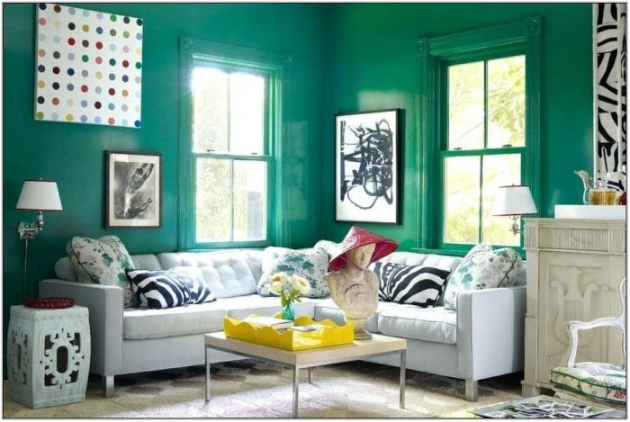 Blue And Green Living Room Decorating Ideas