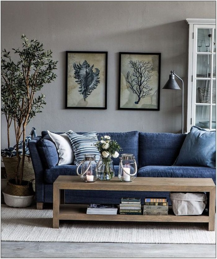 Blue Furniture Living Room Ideas
