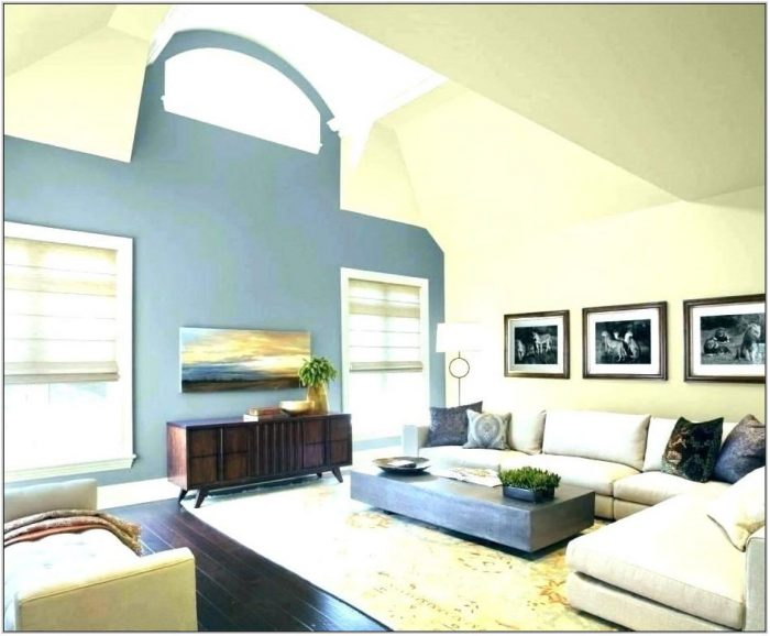 Blue Grey Paint Color For Living Room