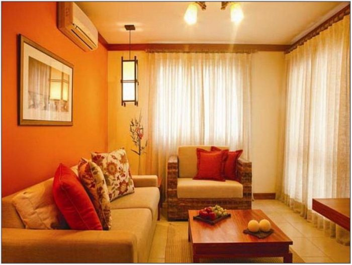 Bright Color Paint For Living Room