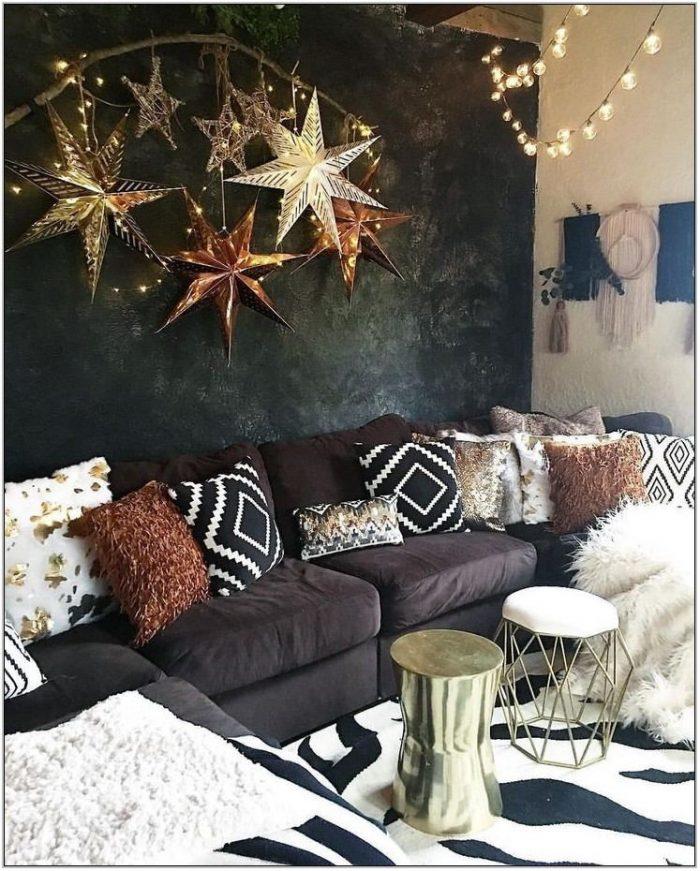 Bronze Living Room Decor