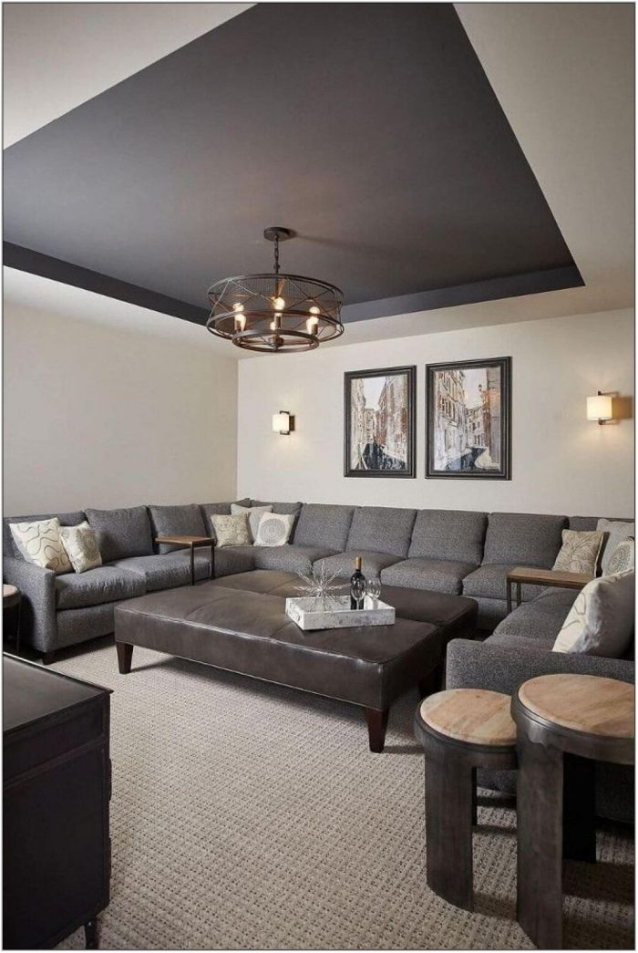 Ceiling Paint Ideas For Living Room