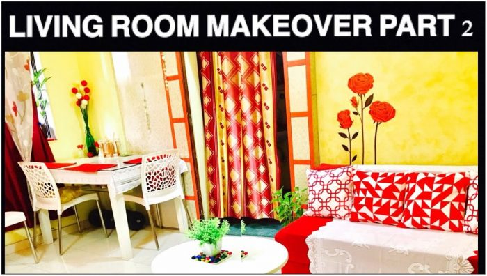 Cheap Living Room Makeover