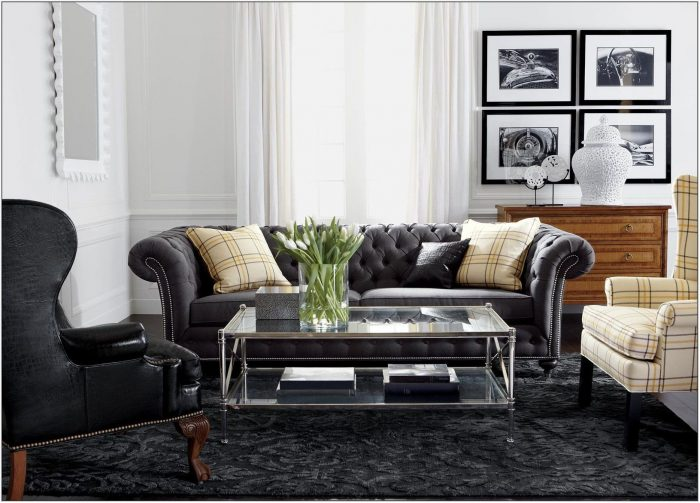 Chrome Living Room Decor