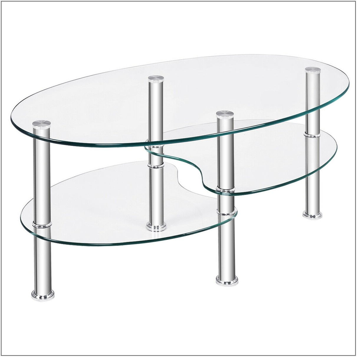 Clear Living Room Table