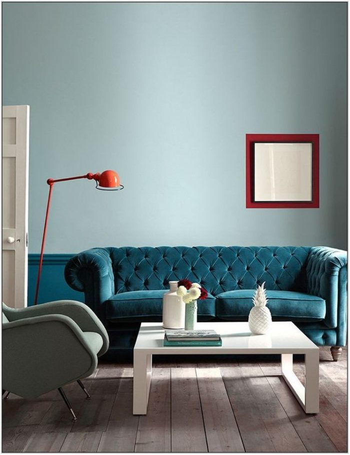 Contemporary Living Room Paint Ideas