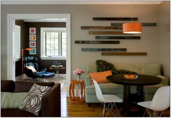 Contemporary Living Room Wall Decor