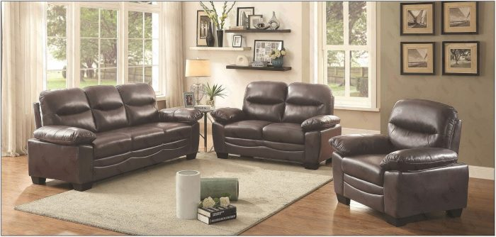 Dark Brown Living Room Furniture