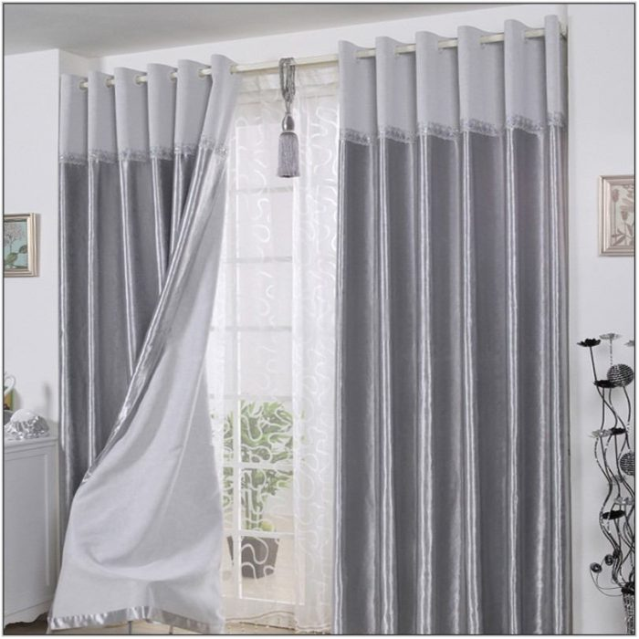 Dark Gray Curtains For Living Room
