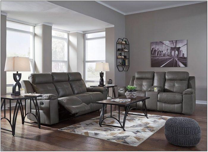 Dark Gray Living Room Set