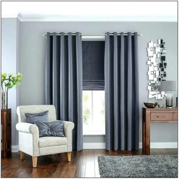 Dark Grey Curtains Living Room
