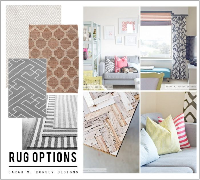 Diy Living Room Rug