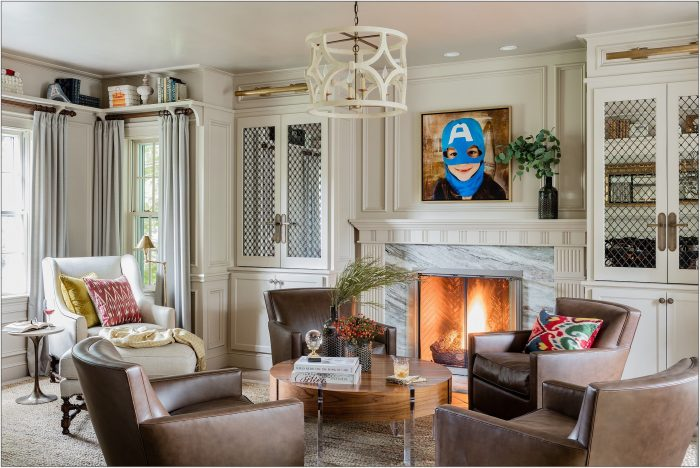 Fireplace Chairs Living Room