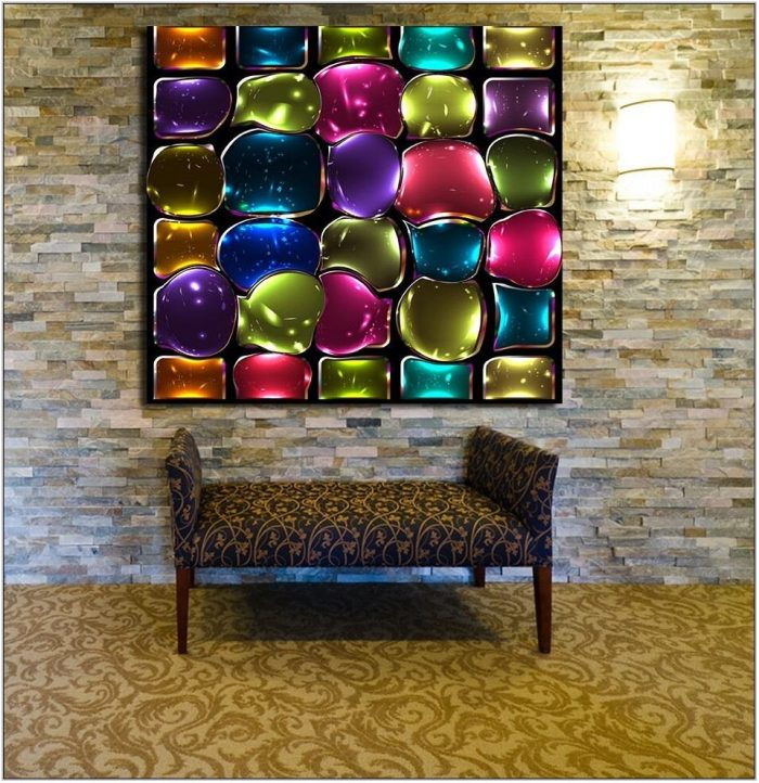 Glass Wall Pictures For Living Room