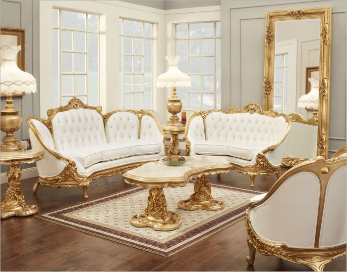 Gold Furniture Living Room