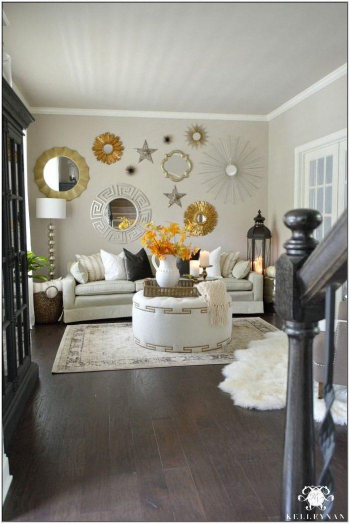 Gold Wall Decor Living Room
