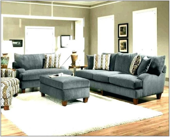 Gray And Tan Living Room