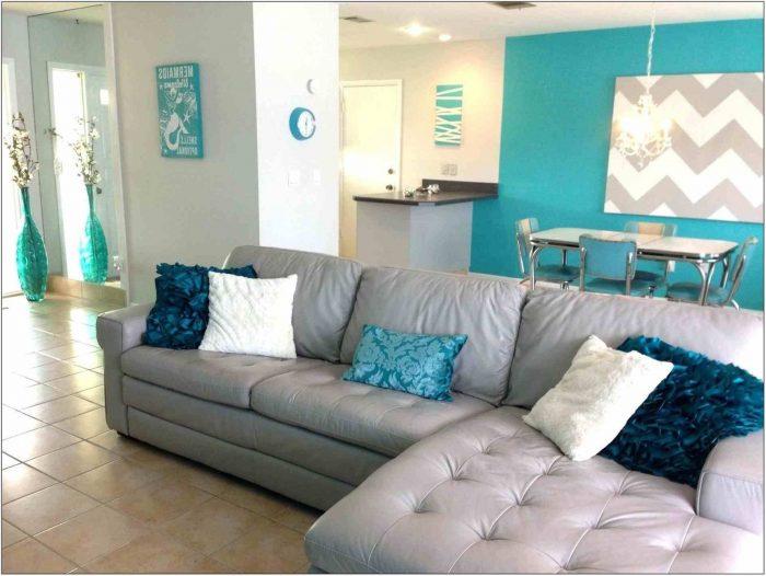 Gray And Teal Living Room Decor