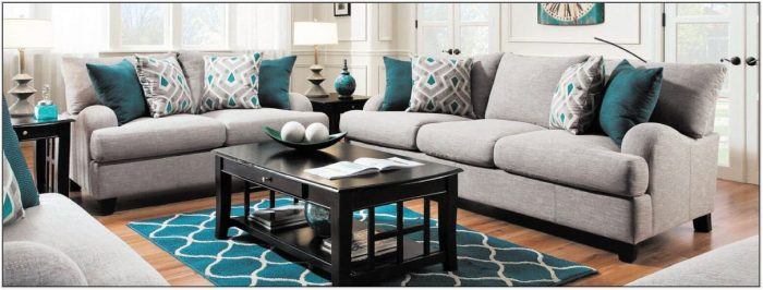 Grey And Black Living Room Furniture