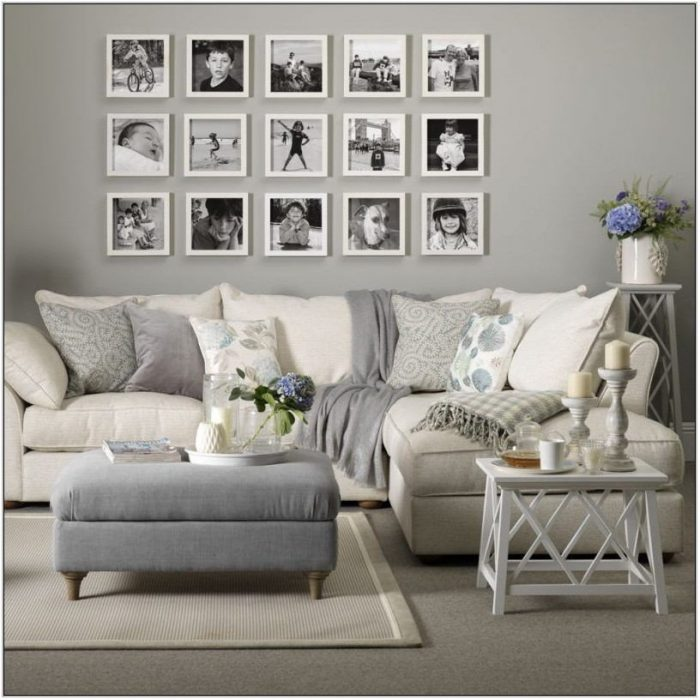 Grey And White Living Room Furniture