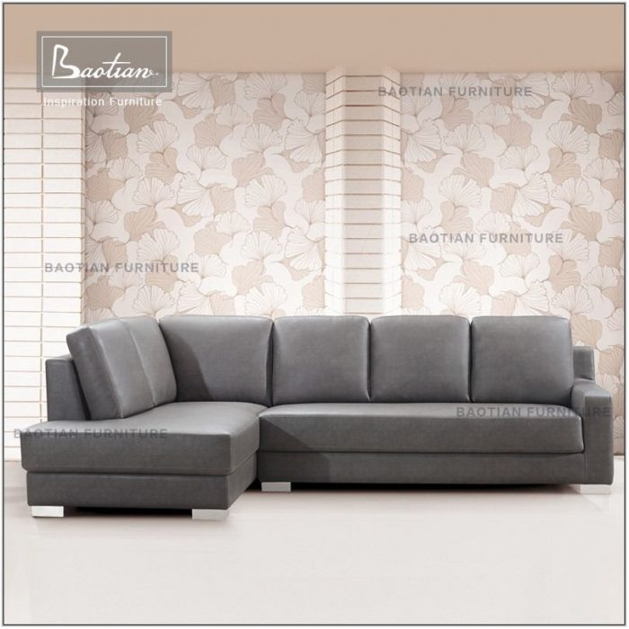 Grey Leather Living Room Furniture