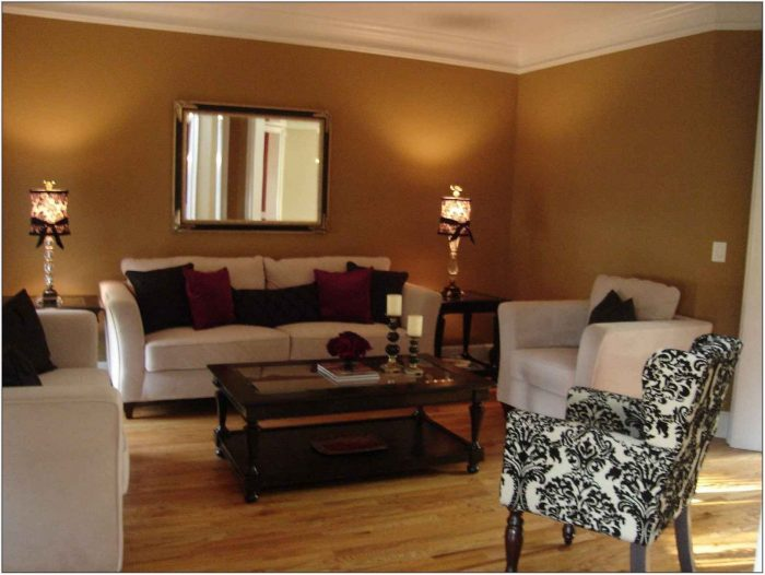 Light Brown Paint For Living Room