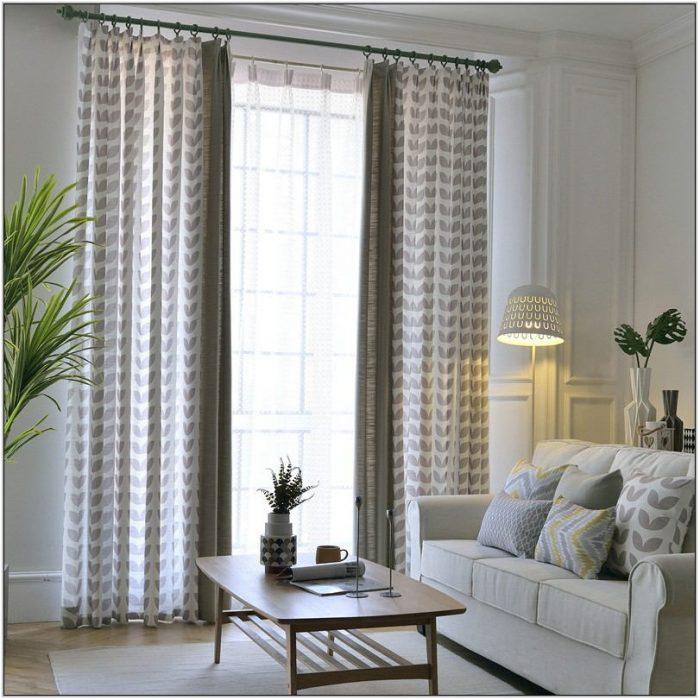 Light Living Room Curtains