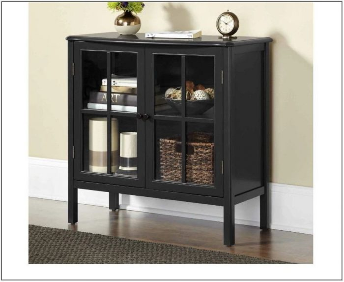 Living Room Accent Storage Cabinets