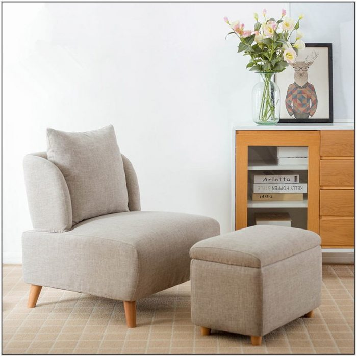 Living Room Chair With Storage