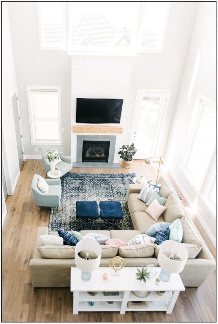 Living Room Couch Set Up