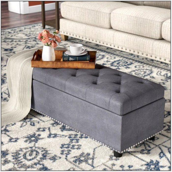 Living Room Furniture Ottoman