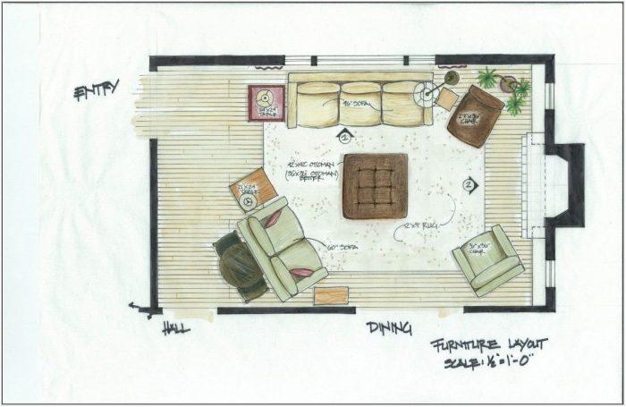 Living Room Layout App