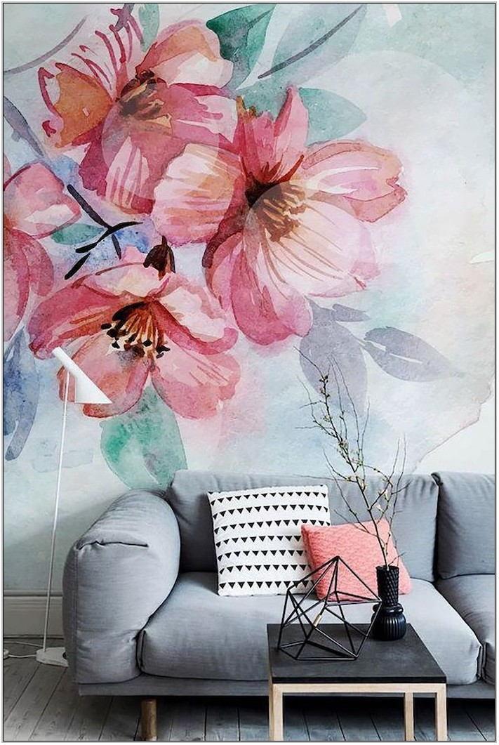Living Room Mural Ideas