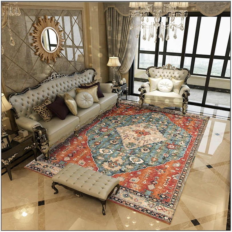Living Room Persian Rug